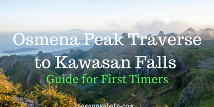 osmena peak traverse to kawasan falls guide for first timers