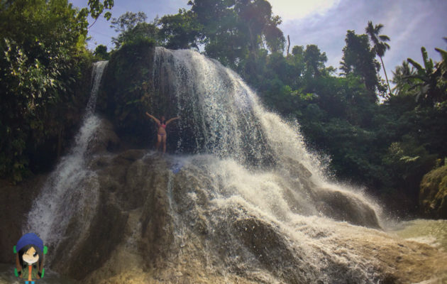 Bean in Transit - Lusno Falls, Ronda, Cebu