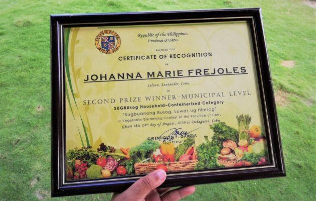 Vegetable Gardening Contest